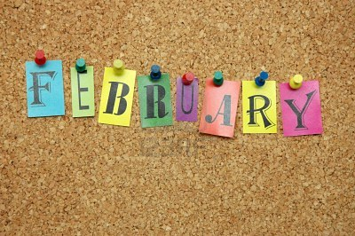 9319207-february-month-pinned-on-noticeboard